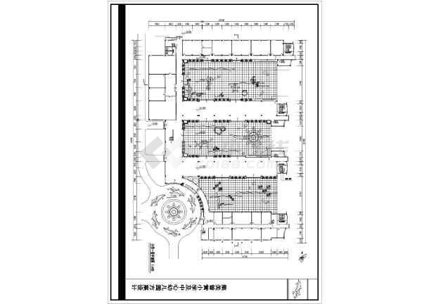 某地小学建筑设计平面图(共6张)-图1