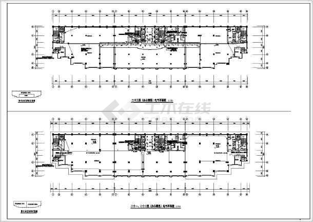 [广东]酒店办公综合体电气全套施工图(含控制系统图)-图3