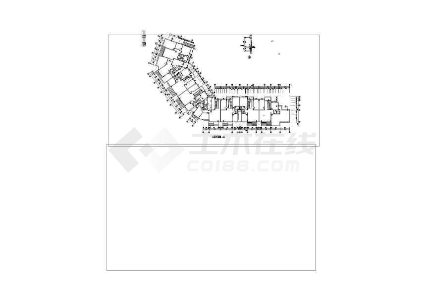 精美花园住宅建筑设计图-图3