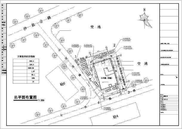 深圳市盐田区侨民安置住宅楼建筑设计施工图-图1