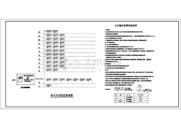 [浙江]写字楼带地下室人防车库电气施工图-图3