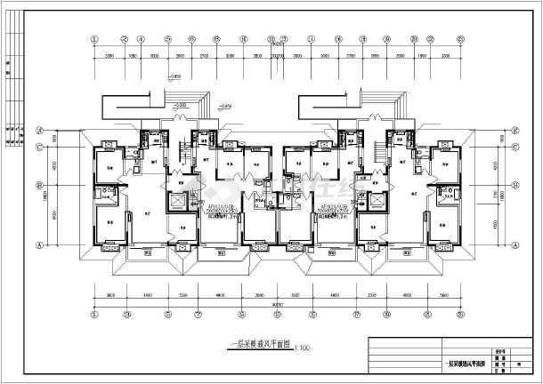 某十一层住宅楼采暖通风图-图2
