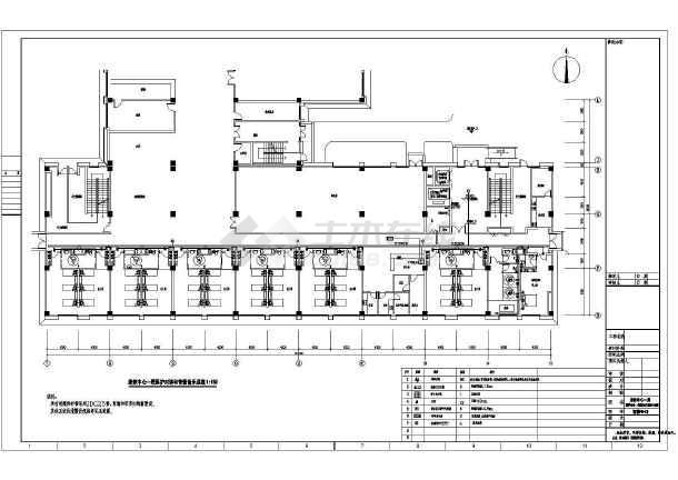 [上海]社会福利院养老院电气全套智能化系统工程图纸含医疗部分-图2