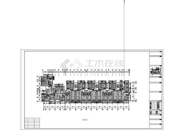 某六层住宅楼采暖通风图-图2