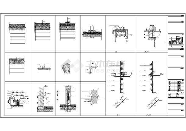 某六层住宅楼采暖通风图-图3