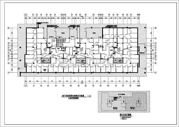 [江苏]16层高档住宅楼电气全套施工图(断路器联动接线详图、楼道灯火灾点燃回路)-图1