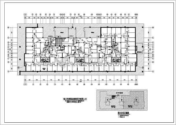 [江苏]16层高档住宅楼电气全套施工图(断路器联动接线详图、楼道灯火灾点燃回路)-图3