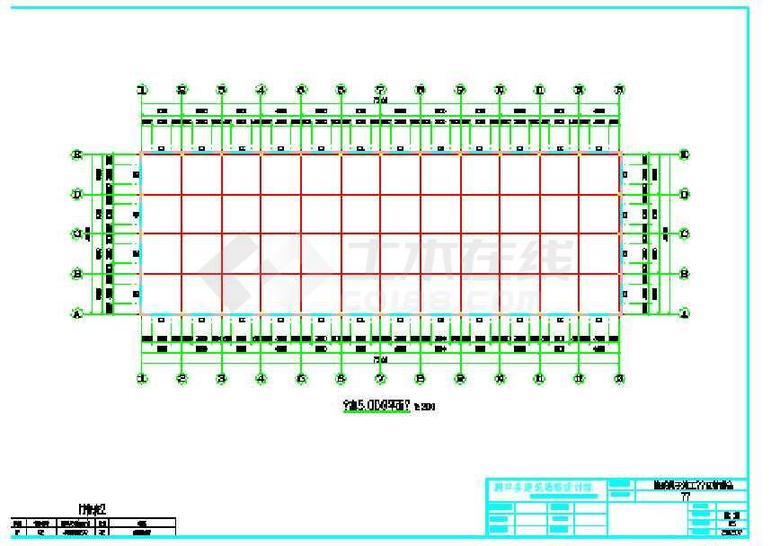 某地工业园车间厂房结构施工图-图2