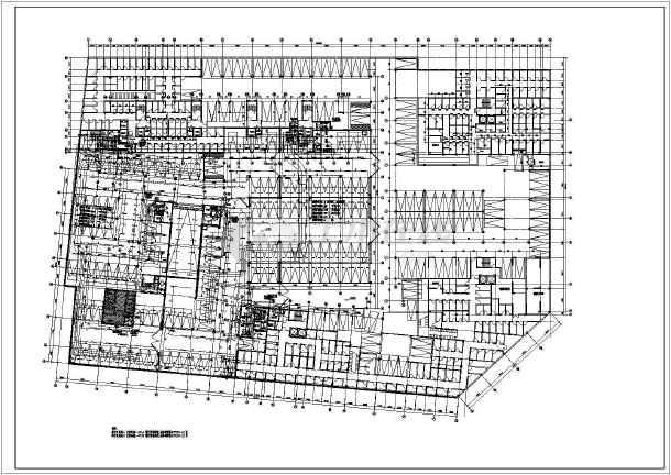 [浙江]最新公寓地下室人防车库电气施工图(含防火门监控安装图)-图1