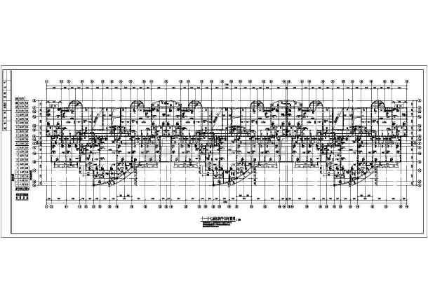 某地十九层剪力墙住宅楼结构施工图-图2
