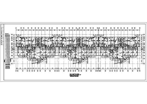 某地十九层剪力墙住宅楼结构施工图-图3