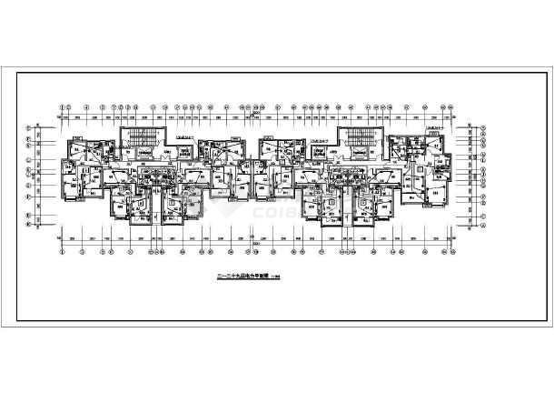 [河北]高档小区住宅楼电气施工图-图1