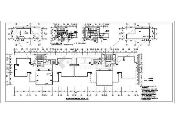 [河北]高档小区住宅楼电气施工图-图2