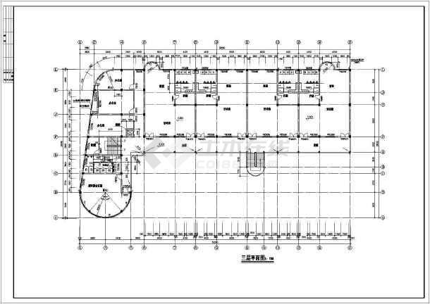 某地幼儿园教学楼建筑全套图-图1
