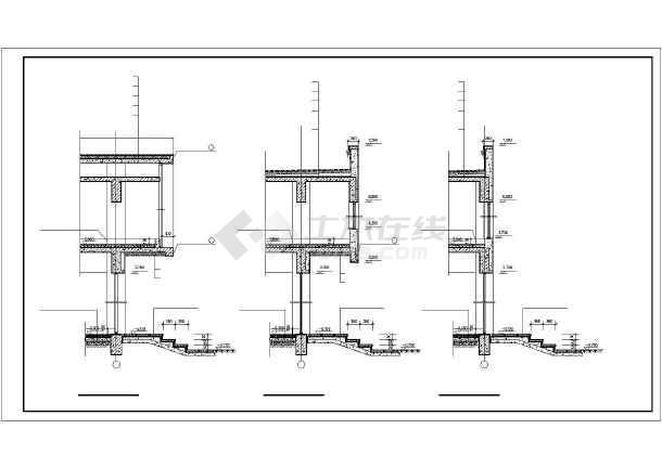 近百种墙身cad装修设计施工图纸-图3