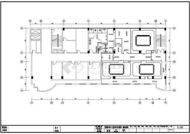 某空调a空调手术室图纸图纸a1装订医院叠法图片