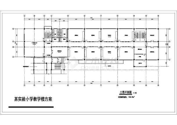 某小学教学楼建筑设计图(共6张)