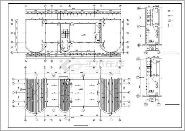 某地框架幼儿园建筑结构图(共13张)