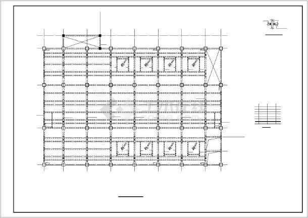 某6层框架厂房结构设计图