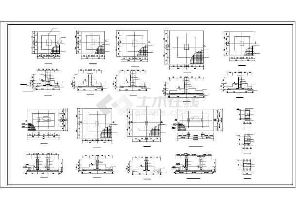 90kn/﹐图纸张数:16张 内容简介图纸包括:结构设计说明, 基础平面图图片