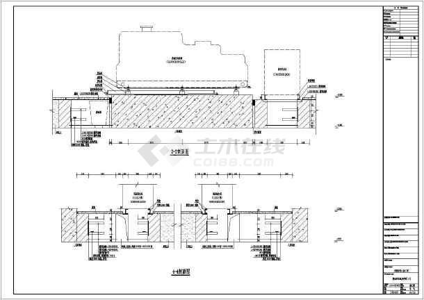 某柴油发电机房设计图纸图片