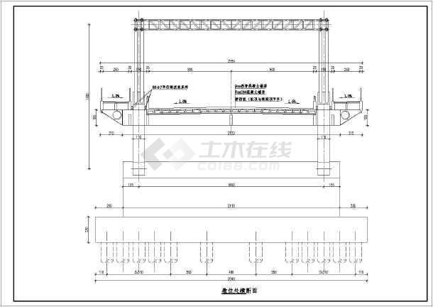 中承式方案整套v方案cad图纸图b17模型纸轰炸机拱桥图片