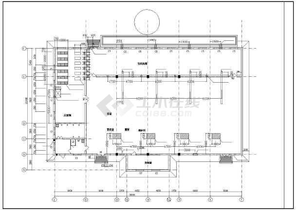 4吨燃煤蒸汽锅炉房设计图图片