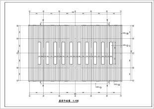 某轻钢证书单层v证书cad建筑结构施工图maccad怎么办过期车库了图片