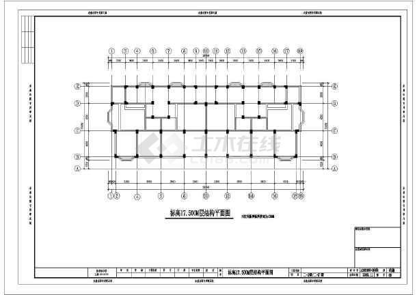 钢筋混凝土结构:框架 基础形式 :桩基础 结构安全等级:二级 地基基础