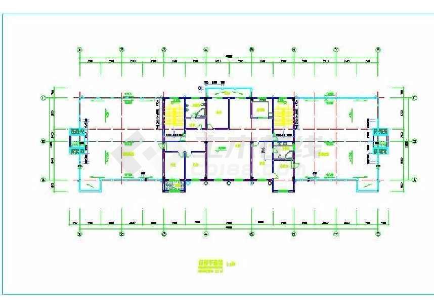 某地三层欧式办公楼建筑方案图