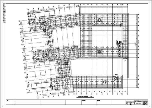 某小区地下车库及配套火牛字体设计图公建好看结构设计图图片