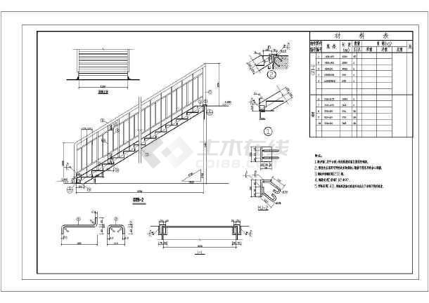 某轻钢结构厂房建筑及结构设计cad施工图(含建筑,结构