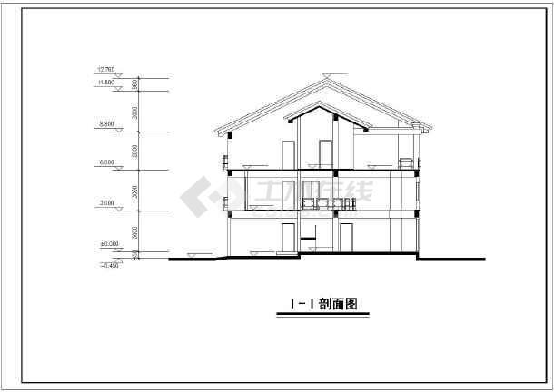 某新中式别墅图纸建筑设计图纸高达海牛全套组装图片