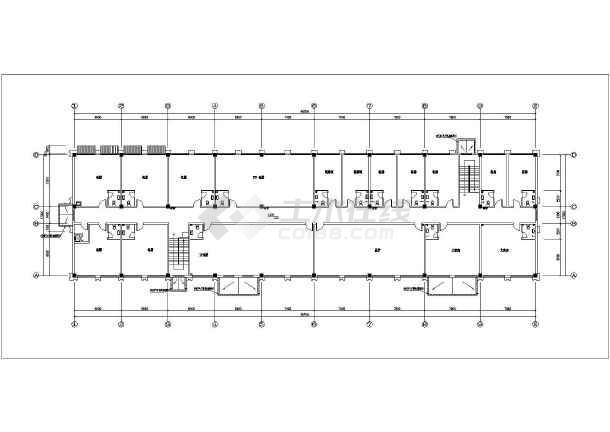 大型综合性建筑给排水图纸(餐饮娱乐大陆同层给没风车宾馆图纸崩溃图片