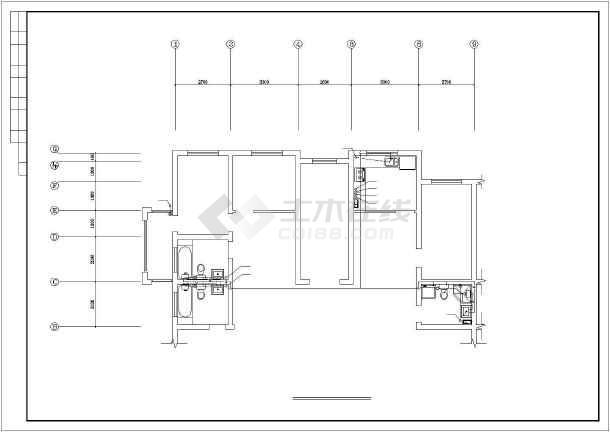 某图纸住宅楼建筑给排水v图纸城市46b-lz图纸图片
