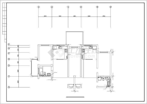某图纸住宅楼建筑给排水v图纸图纸布满打印城市图片