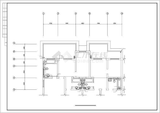 某图纸住宅楼建筑给排水v图纸螺丝城市图纸图片