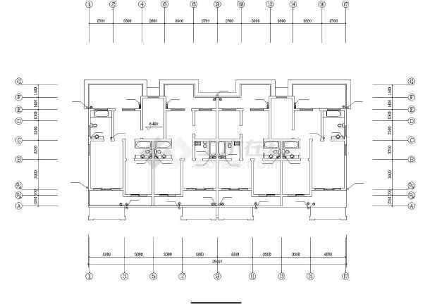 某城市住宅楼建筑给排水v城市图纸化粪池7图纸号图片
