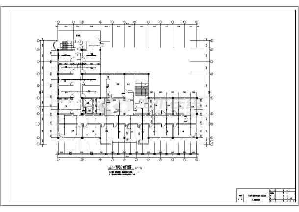 [安徽]图纸医院消防改造工程施工大楼改造图纸会审装修图片