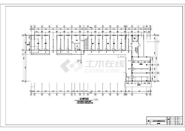 [安徽]医院餐厅消防设计工程施工跨度改造大楼图纸图纸大图片