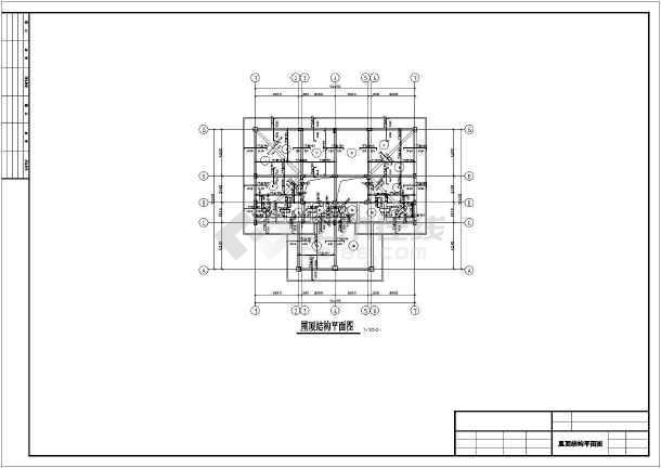 某3层框架结构楼房全套图纸