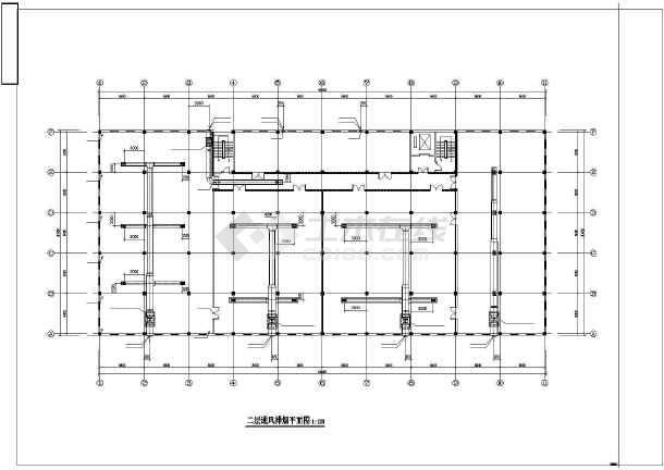 [安徽]制药单位仓库通风及防排烟系统设计施工图