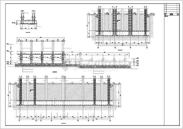 某水泥搅拌站结构设计图