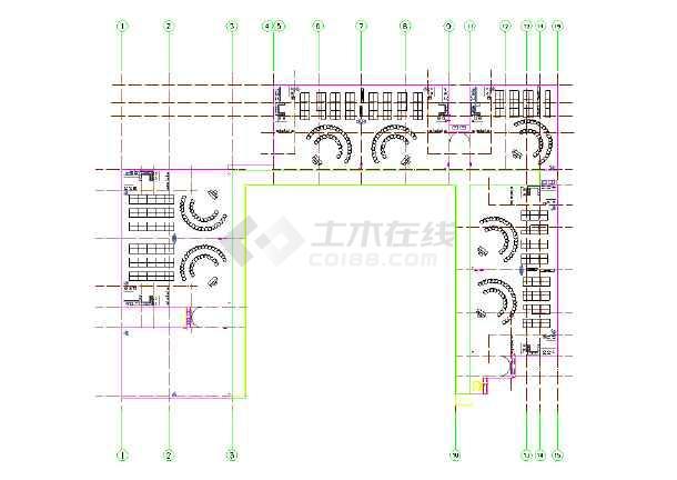 广东东莞某18班幼儿园设计图