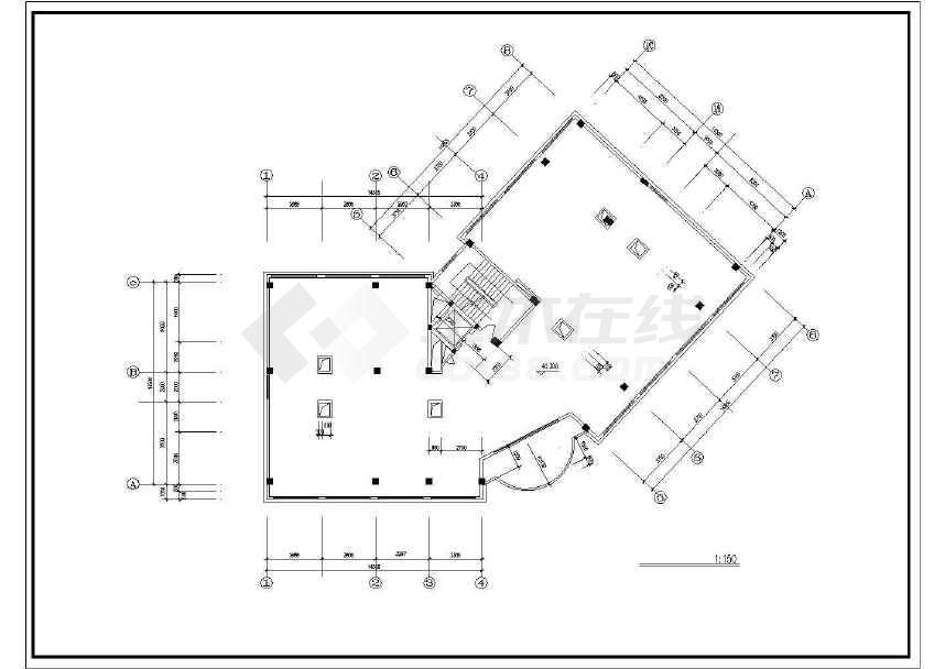 某地城市酒店建筑设计图