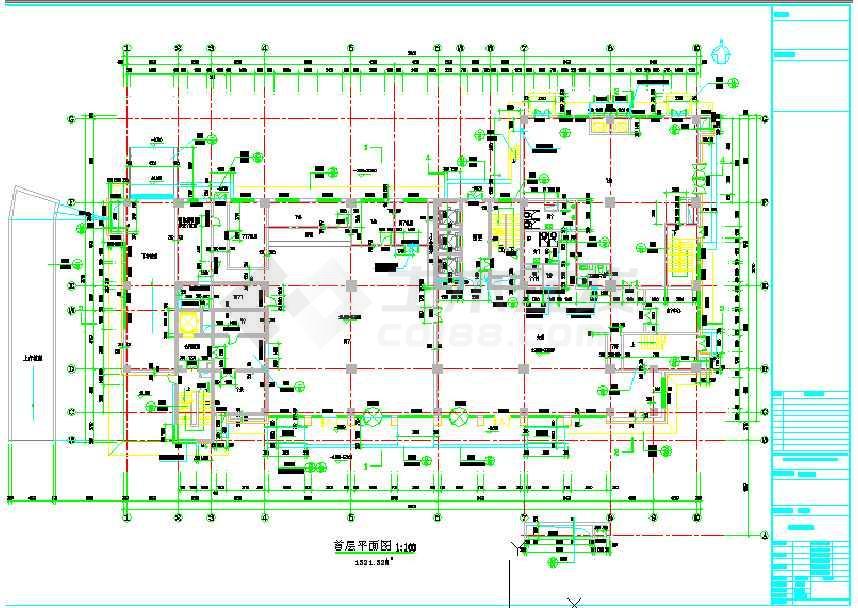 某大厦工程图纸图纸燃气餐厅-2thmdzw型全套图片