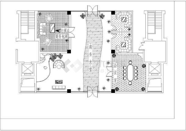 某大型商场平面布置设计图