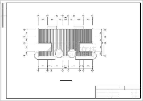 某四层框架结构住宅楼建筑结构图纸