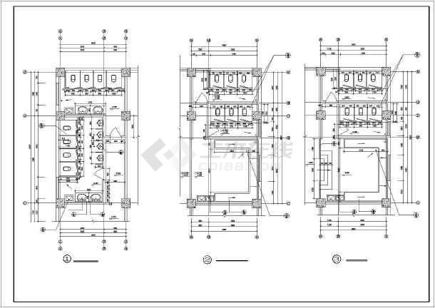 西南医院家属区教室建筑设计图