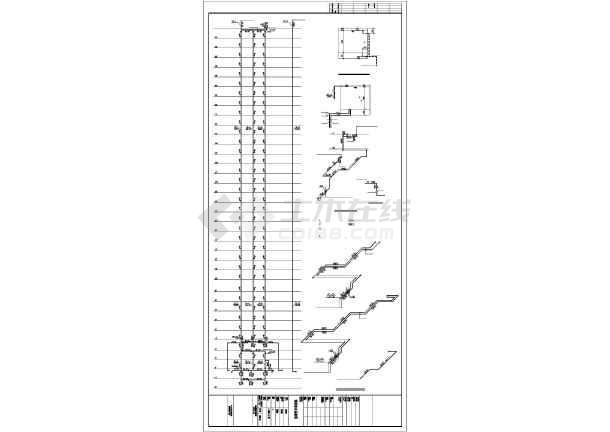[郑州]某手动安置房给排水图纸高层图纸闸板阀v手动全套图片